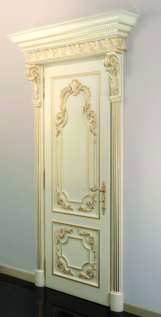Porte su misura e lavorate a mano interior design faoma - Porte decorate per interni ...
