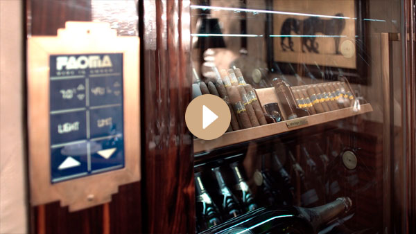 Automated wine cellar