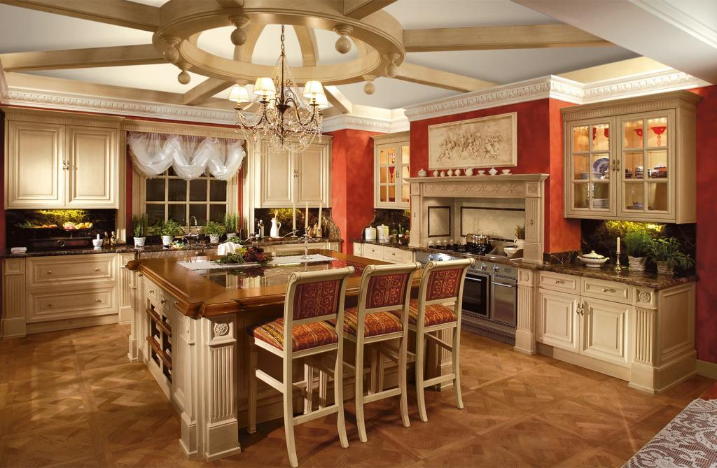 Exclusive is a classic style kitchen made from noble materials and characterized by excellent woodwork