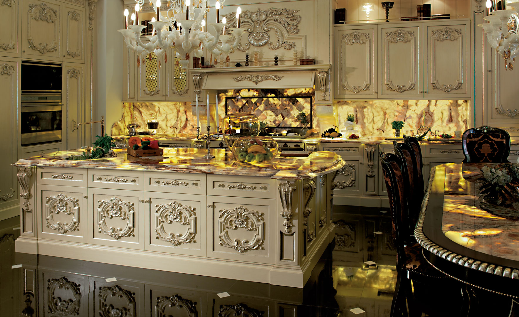 Diamond Kitchen: luxury, light and elegance