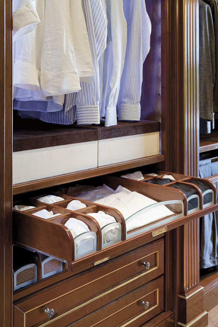 All compartments can be customized in accordance with requirement