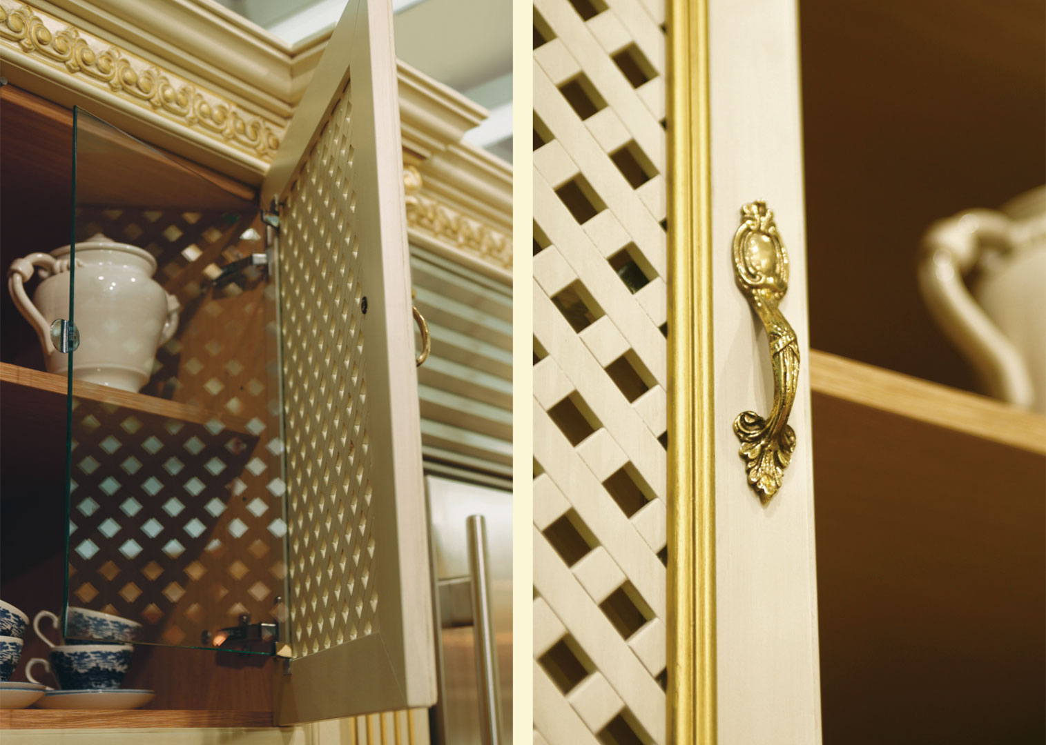 Royal Luxury features doors with grating and anti-dust protection