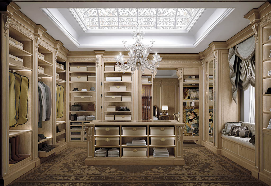 Custom Made Walk In Wardrobe Diamond By Faoma