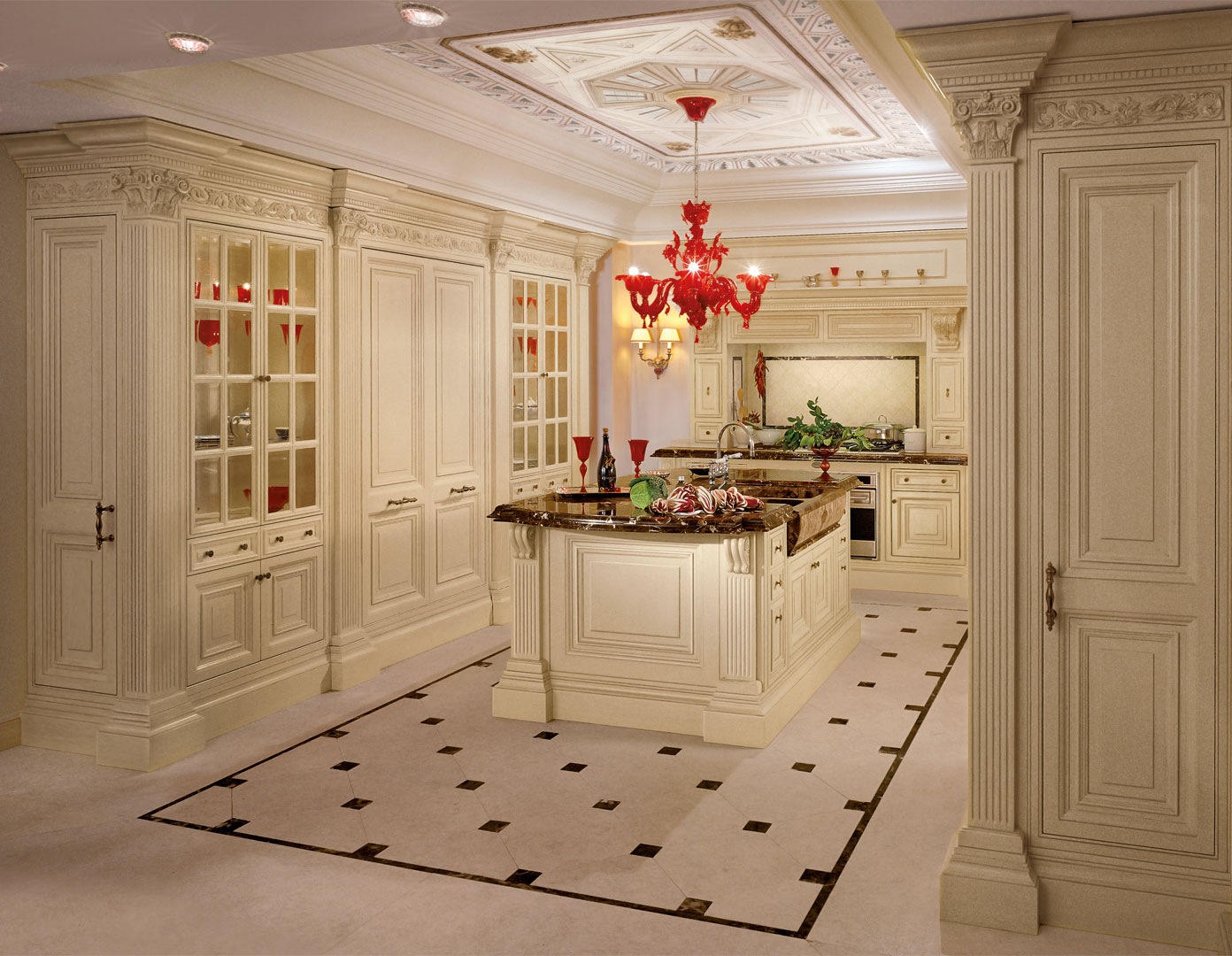 Luxury and prestige converge in this highly exclusive kitchen