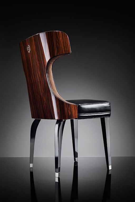 Déco style is interpreted and represented by Operà chairs