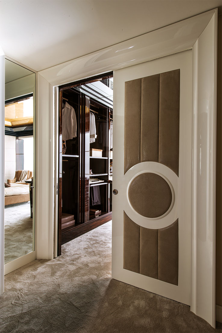 Faoma Opera upholstered sliding door